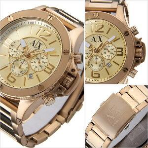 アルマーニエクスチェンジ腕時計[ArmaniExchange時計]アルマーニエクスチェンジ時計[ArmaniExchange腕時計]アルマーニ時計/アルマーニ腕時計メンズ/ゴールドAX1504[人気/新作/流行/ブランド/防水/メタルベルト/AX][送料無料]