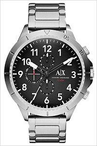 アルマーニエクスチェンジ腕時計[ArmaniExchange時計]アルマーニエクスチェンジ時計[ArmaniExchange腕時計]アルマーニ時計/アルマーニ腕時計メンズ/ブラックAX1750[人気/新作/流行/ブランド/防水/メタルベルト/シルバー/ビッグフェイス/AX][送料無料]