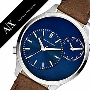 アルマーニエクスチェンジ腕時計[ArmaniExchange時計]アルマーニエクスチェンジ時計[ArmaniExchange腕時計]アルマーニ時計/アルマーニ腕時計メンズ/ブルーAX2162[人気/新作/流行/ブランド/防水/革ベルト/レザー/AX][送料無料]