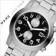 マークバイマークジェイコブス 腕時計[ MARCBYMARCJACOBS 時計 ]マーク バイ マーク ジェイコブス 時計[ MARC BY MARC JACOBS 腕時計 ][ マークジェイコブス ]ラリー Larry メンズ/ブラック MBM5050 [人気/ブランド/防水/メタル ベルト/シンプル/シルバー][送料無料]