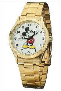 【5年保証対象】インガソールミッキー腕時計[INGERSOLLMICKEY時計]ディズニー時計[Disney腕時計]インガソールミッキー[INGERSOLLMICKEY]ディズニー時計/メンズ/レディース/DIN004GDGD[メタルベルト/クラシックタイムコレクション/ゴールド][送料無料]