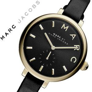 マークバイマークジェイコブス腕時計[MARCBYMARCJACOBS時計]マークバイマークジェイコブス時計[MARCBYMARCJACOBS腕時計][マークジェイコブス]サリーSallyレディース/ブラックMJ1416[人気/ブランド/防水/革ベルト/レザー/シンプル/ゴールド][送料無料]