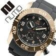 ヌーティッド 腕時計[ NUTID 時計 ]ヌーティッド 時計[ NUTID 腕時計 ]マット ブル MATT BULL メンズ/ブラック N-1403M-A [正規品/デザイナーズウォッチ/ファッション/デザイン/人気/ブランド/防水/シリコン/ラバー/ゴールド][送料無料]