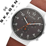 �����������ӻ���[SKAGEN����]�������������[SKAGEN�ӻ���]�����������ӻ���[SKAGEN����]���󥫡�Ancher���/���졼SKW6099[�͵�/����/ή��/�֥���/�ɿ�/�ץ٥��/�쥶��/����С�/�֥饦��/����ץ�/�ץ쥼���/���ե�][����̵��]
