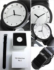 【5年保証対象】[ティッドウォッチズ]ティッドウォッチ腕時計[TIDWatches時計]ティッドウォッチ時計[TIDWatches腕時計]TIDNo.1レディース/ホワイトTID01-WH36-BK[革ベルト/おしゃれ/インスタ/モデル/通販/北欧/ペア/ブラック][送料無料]