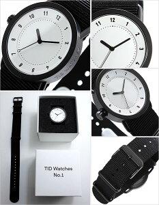 【5年保証対象】[ティッドウォッチズ]ティッドウォッチ腕時計[TIDWatches時計]ティッドウォッチ時計[TIDWatches腕時計]TIDNo.1レディース/ホワイトTID01-WH36-NBK[NATOベルト/おしゃれ/インスタ/モデル/通販/北欧/ペア/ブラック/ナトー][送料無料]