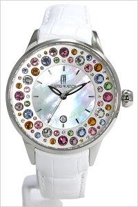 カプリウォッチ腕時計[CAPRIWATCH時計]カプリウォッチ時計[CAPRIWATCH腕時計]ミッレフィオーリMillefioriレディース/ホワイトCAPRI-5265-WH[人気/新作/トレンド/ブランド/防水/革ベルト/シルバー/かわいい/スワロフスキー/クリスタル/イタリア][送料無料]