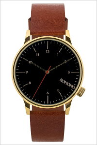 コモノ腕時計[KOMONO時計]コモノ時計[KOMONO腕時計]ウィンストンリーガルWINSTONREGALメンズ/レディース/ブラックKOM-W2258[人気/新作/ブランド/トレンド/革ベルト/レザー/シンプル/ゴールド/ブラウン/おしゃれ/インスタ/insta/シンプル/薄型][送料無料]