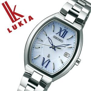 【5年保証対象】セイコー腕時計SEIKO時計SEIKO腕時計セイコー時計ルキアLUKIAレディース/ブルーSSQW027[メタルベルト/正規品/防水/ソーラー電波修正/チタンモデル/シルバー][送料無料]