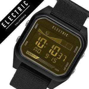 【5年保証対象】エレクトリック腕時計[ELECTRIC時計]エレクトリック時計[ELECTRIC腕時計]ED01-TNATOメンズ/レディース/イエローED1TN2-ALBKBRA[人気/ブランド/トレンド/デジタル/タイドグラフ/ブラック/サーフ/サーフィン/マリンスポーツ/防水][送料無料]