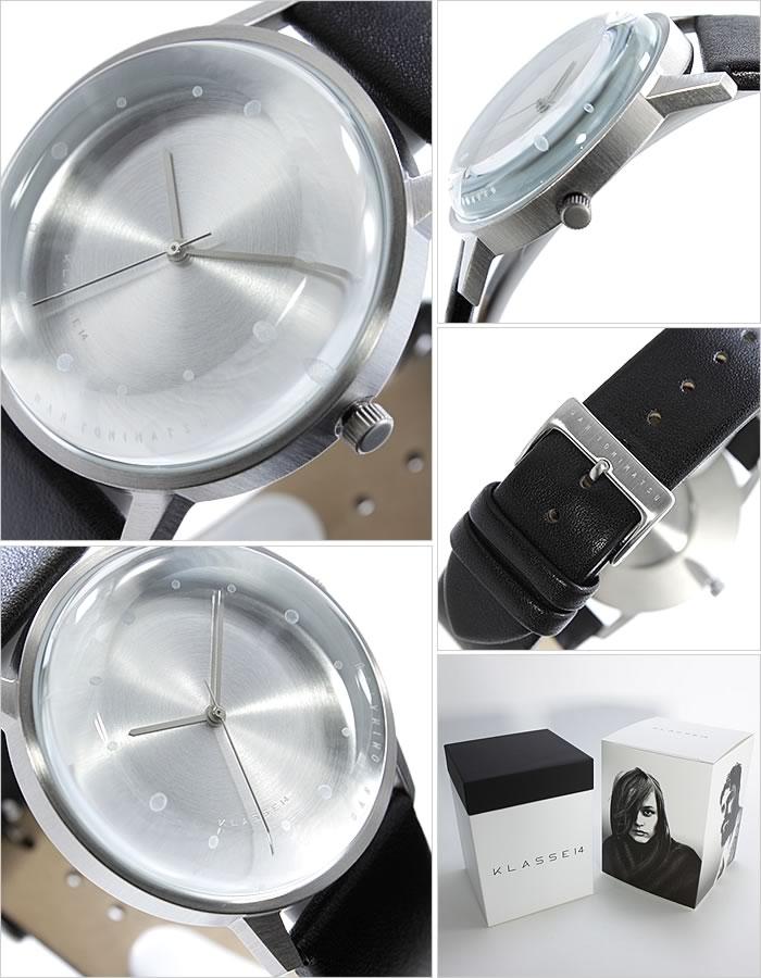 [新作 最新 人気 トレンド ブランド] [クラッセ ダン トミマツ ブラック] メンズ シルバー 男女兼用 腕時計 FOTD DAN TOMIMATSU KLASSE14 クラス FO14SR001M クラス腕時計 ユニセックス レディース [おしゃれ 腕時計] 時計 KLASSE14時計