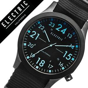 【5年保証対象】エレクトリック腕時計[ELECTRIC時計]エレクトリック時計[ELECTRIC腕時計]FW01NATOメンズ/レディース/ブラックFW1N3-ORBK[正規品/人気/新作/ブランド/トレンド/ポリエステル/偏光/サーフ/サーフィン/マリンスポーツ/防水][送料無料]