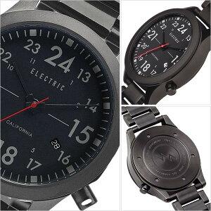 【5年保証対象】エレクトリック腕時計[ELECTRIC時計]エレクトリック時計[ELECTRIC腕時計]FW01SSメンズ/レディース/ブラックFW1S2-ALBK[正規品/人気/新作/ブランド/トレンド/ステンレス/メタルベルト/サーフ/サーフィン/マリンスポーツ/防水][送料無料]