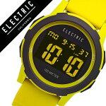 【5年保証対象】エレクトリック腕時計[ELECTRIC時計]エレクトリック時計[ELECTRIC腕時計]プライムPRIMESILICONEメンズ/レディースPRSL-NUKUS[人気/ブランド/トレンド/シリコン/ラバー/デジタル/クロノグラフ/イエロー/サーフ/マリンスポーツ/防水][送料無料]