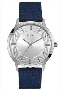 【5年保証対象】ゲス腕時計[GUESS腕時計]ゲス時計[GUESS時計]ゲス腕時計[GUESS腕時計]ゲス時計[GUESS時計]エスクローESCROWメンズ/シルバーW0795G4[NATOベルト/正規品/カジュアル/ブルー/ネイビー/新作/人気/ブランド][送料無料]