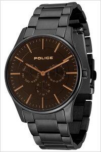 【5年保証対象】ポリス腕時計[POLICE時計]ポリス時計[POLICE腕時計]ポリス腕時計[POLICE時計]カーティシーCOURTESYメンズ/ブラック14701JSB-02M[人気/新作/ブランド/トレンド/メタルベルト/コーテシー/シンプル/ブラック/プレゼント/ギフト][送料無料]