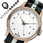 ハイパーグランド腕時計[HYPERGRAND時計]ハイパーグランド時計[HYPERGRAND腕時計]マーベリックシリーズナトーMAVERICKSERIESNATOメンズ/レディースNWM4RUNW[人気/ブランド/ナイロンベルト/ピンクゴールド/シンプル/北欧/デザイナーズウォッチ][送料無料]