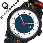 ハイパーグランド腕時計[HYPERGRAND時計]ハイパーグランド時計[HYPERGRAND腕時計]マーベリックシリーズナトーMAVERICKSERIESNATOメンズ/レディースNWM4SOUL[人気/ブランド/ナイロンベルト/ブラック/ネイビー/北欧/デザイナーズウォッチ][送料無料]