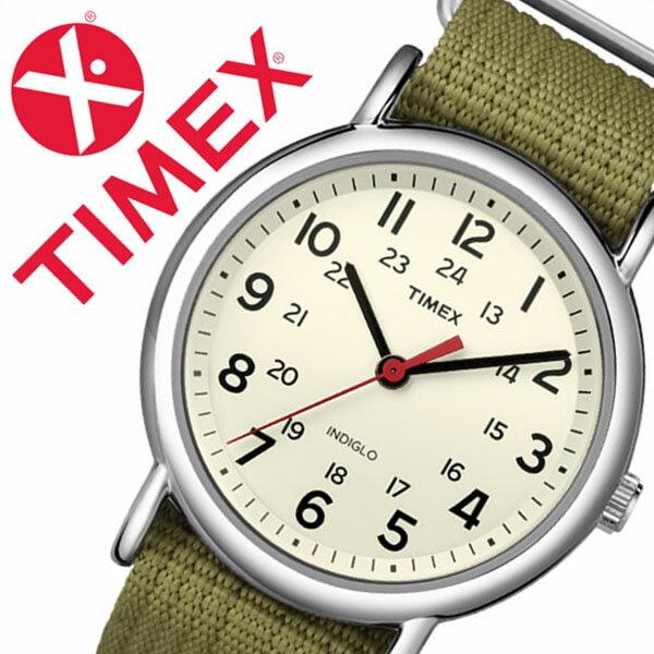 【5年保証対象】タイメックス 腕時計 TIMEX 時計 タイメックス 時計 TIMEX 腕時計 ウィークエンダー セントラル パーク Weekender Central Park メンズ ホワイト T2N651 正規品 人気 ブランド NATO ベルト ナトー ファッションウォッチ シルバー クリーム グリーン