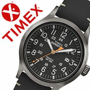 【5年保証対象】タイメックス腕時計[TIMEX時計]タイメックス時計[TIMEX腕時計]エクスペディションスカウトExpeditionScoutメンズ/ブラックTW4B01900[正規品/人気/ブランド/革ベルト/ファッションウォッチ/グレー]