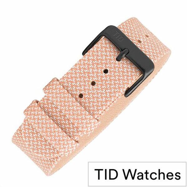 腕時計用アクセサリー, 腕時計用ベルト・バンド  TIDWatches TID Watches Kvadrat Twain wristbands TID-BELT-SALMON