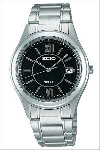 【5年保証対象】セイコースピリット腕時計[SEIKOSPIRIT時計]セイコースピリット時計[SEIKOSPIRIT腕時計]セイコースピリット時計[SEIKOSPIRIT時計]メンズ/ブラックSBPN061[スピリッツ/メタルベルト/ソーラー/シルバー][送料無料][父の日プレゼント/人気]