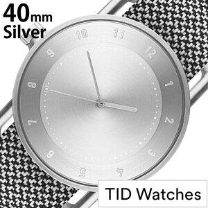 【5年保証対象】[ティッドウォッチズ]ティッドウォッチ腕時計[TIDWatches時計]ティッドウォッチ時計[TIDWatches腕時計]TIDNo.1クヴァドラKvadratメンズ/レディース/シルバーTID01-SV40-GRANITE[正規品/おしゃれ/アナログ/革/レザー/ホワイト][送料無料]