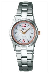 【5年保証対象】アルバアンジェーヌ腕時計[albaingenu時計]アルバアンジェーン時計[ingenu腕時計]アンジェーヌ腕時計レディース/ホワイトAHJD090[セイコー/メタルベルト/ソーラー/電池交換不要/かわいい/高校生/大学生][プレゼント/ギフト/祝い][送料無料]