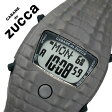 【5年保証対象】カバン ド ズッカ 腕時計[ CABANE de ZUCCA 時計 ]カバンド ズッカ 時計[ CABANE de ZUCCA 腕時計 ]カバンドズッカ腕時計 CABANEdeZUCCA時計 クロック・ダイル Clock-Dile メンズ/レディース/グレー AJGM701 [液晶/デジタル/復刻/人気//動物/ワニ][送料無料]