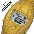 【5年保証対象】カバン ド ズッカ 腕時計[ CABANE de ZUCCA 時計 ]カバンド ズッカ 時計[ CABANE de ZUCCA 腕時計 ]カバンドズッカ腕時計 CABANEdeZUCCA時計 クロック・ダイル Clock-Dile メンズ/レディース/ゴールド AJGM702 [液晶/復刻/人気/動物/ワニ][送料無料]
