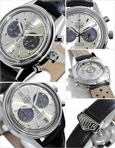 タグホイヤー腕時計TAGHeuer時計TAGHeuer腕時計タグホイヤー時計カレラグラスボックスCarreraGlassboxメンズ/シルバーCAR221A-FC6353[革ベルト/タグ・ホイヤー/機械式/自動巻/メカニカル/スイス/ポリッシュ/シルバー]
