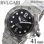 ブルガリ 腕時計[ BVLGARI 時計 ]ブルガリ 時計[ BVLGARI 腕時計 ]ディアゴノ プロフェッショナル スクーバ アクア DIAGONO Professional Scuba Aqua メンズ/ブラック DP42BSSDSD[メタル ベルト/機械式/自動巻/メカニカル/スイス/シルバー/スポーツ/防水/ダイバー][送料無料]