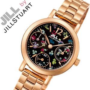 【5年保証対象】ジルバイジルスチュアート腕時計[JILLBYJILLSTUART時計]ジルバイジルスチュアート時計[JILLSTUART腕時計]ジルスチュアート腕時計ジルスチュアート時計ジルスチュアート時計フラワークラウンレディース/ブラックNJAG402[限定][送料無料]