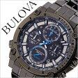 ブローバ 腕時計[ BULOVA 時計 ]ブローバ 時計[ BULOVA 腕時計 ]プレシジョニスト PRECISIONIST メンズ/ブラック 98G229 [アメリカ/アメリカンブランド/人気/ブランド/メタル ベルト/クロノグラフ/グレー/ガンメタル][送料無料]