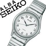 [当日出荷] 【延長保証対象】セイコー アルバ 腕時計 SEIKO ALBA 時計 セイコーアルバ SEIKOALBA アルバ時計 アルバ腕時計 メンズ ホワイト AQGK439 プレゼント メタル ベルト 正規品 アナログ スタンダード シルバー