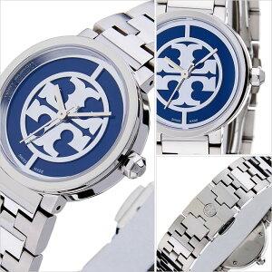 トリーバーチ腕時計[TORYBURCH時計]トリーバーチ時計[TORYBURCH腕時計]トリーバーチ腕時計REVAレディース/ブルーTRB4010[メタルベルト/シルバー/ネイビー/ブレスレット/アクセサリー/デザイン/人気/ブランド/トリバ/トリバーチ][送料無料]