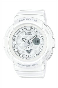 【延長保証対象】カシオ腕時計[CASIO時計]カシオ時計[CASIO腕時計]ベビージーBABY-Gレディース/ホワイトCASIO-BGA-195-7AJF[正規品/ベビーG/人気/かわいい/女子/カジュアル/アウトドア/ウレタンラバーベルト/バンド/ホワイト/ホワイト][送料無料]