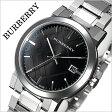 バーバリー 時計[BURBERRY 腕時計]バーバリー ロンドン 腕時計[BURBERRY LONDON 時計] シティ The City メンズ/ブラック BU9001 [おすすめ/ブランド/プレゼント/ギフト/おしゃれ/オシャレ/メタル ベルト/シルバー][送料無料]