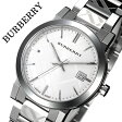バーバリー 時計[BURBERRY 腕時計]バーバリー ロンドン 腕時計[BURBERRY LONDON 時計] シティ The City メンズ/シルバー BU9037 [おすすめ/ブランド/プレゼント/ギフト/おしゃれ/オシャレ/メタル ベルト][送料無料][バレンタイン]