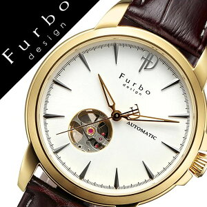 フルボデザイン腕時計[Furbodesign時計]フルボデザイン時計[Furbodesign腕時計]メンズ/シルバーF5027YSIBR[革ベルト/正規品/機械式/自動巻/メカニカル/おしゃれ/オートマチック/イタリアンレザー/ブラウン/ゴールド][送料無料]