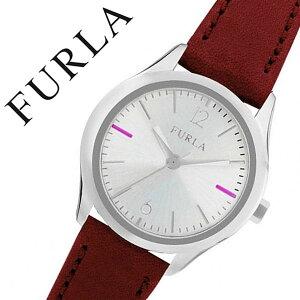 フルラ時計[FURLA時計]フルラ腕時計[FURLA腕時計]エヴァEVA25mmレディース/シルバーR4251101507[人気/新作/流行/ブランド/イタリア/女性/防水/革/レザーベルト/ギフト/プレゼント/レッド][送料無料]