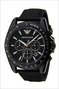 エンポリオアルマーニ腕時計[EMPORIOARMANI時計]エンポリオアルマーニ時計[EMPORIOARMANI腕時計]シグマSigmaメンズ/ブラックAR6131[新作/人気/ビジネス/仕事/ブランド/高級/EA/エンポリ/ギフト/プレゼント/ナイロンベルト][送料無料]