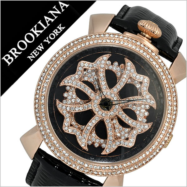 a2a17c85e1 ブルッキアーナ 腕時計[BROOKIANA 時計]ブルッキアーナ メンズ 時計[BROOKIANA 腕時計]スピンウォッチ 新品 ラッピング/メンズ /レディース/ブラック BA2313-RGBK ...