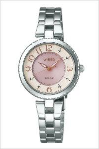 【5年保証対象】セイコー腕時計[SEIKO時計]セイコー時計[SEIKO腕時計]ワイアードエフWIREDfレディース/ピンクAGED085[人気/正規品/ブランド/ワイヤード/ソーラー/メタル][送料無料]