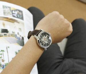 フォッシル腕時計[FOSSIL時計]フォッシル時計[FOSSIL腕時計]グラントGRANTメンズME3099ME3102ME3101ME3100[人気/ブランド/防水/機械式/自動巻き/スケルトン/メカニカル/オートマチック/革/レザー/ブラウン/ブラック/アイボリー][送料無料]