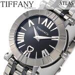 ティファニー腕時計[Tiffany&Co.時計]ティファニー時計[Tiffany&Co.腕時計]アトラスATLASレディース/ブラックZ1300-11-11A10A00A[人気/高級/ブランド/シルバー/メタル/セラミック/スイス/クオーツ/プレゼント/ギフト][送料無料]