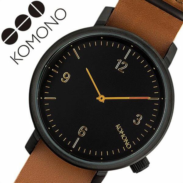 腕時計, 男女兼用腕時計  KOMONO KOMONO MAGNUS BLACK COGNAC KOM-W1940