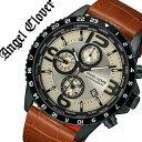 【5年保証対象】エンジェルクローバー 腕時計 AngelClover 時計 エンジェル クローバー 時計 Angel Clover 腕時計 モンド MONDO メンズ アイボリー MO44BSB-LB 正規品 ブランド クロノグラフ ワールド タイマー タイム グローバル レザー 革 父の日 ギフト