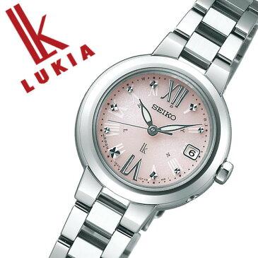 セイコー 腕時計 SEIKO 時計 セイコー 時計 SEIKO 腕時計 ルキア LUKIA レディース ピンク SSVW137 ソーラー 電波 おしゃれ かわいい ファッション ビジネス スーツ ラウンド 女性 仕事 送料無料