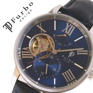 【5年保証対象】フルボデザイン 腕時計 Furbodesign 時計 フルボ デザイン Furbo design TIMENT メンズ ブルー F8401NVNV 人気 ブランド おしゃれ ファッション カジュアル スーツ ビジネス フォーマル 機械式 プレゼント ギフト 送料無料